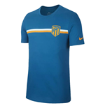 2018-2019 Atletico Madrid Nike Crest Tee (Green Abyss)