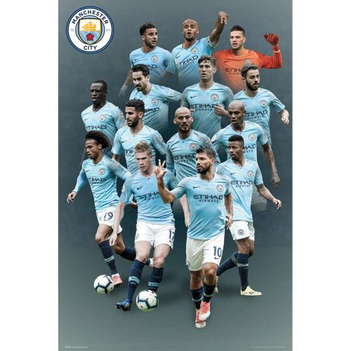 Manchester City F.C. Poster Players 37