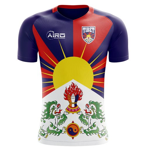 2018-2019 Tibet Home Concept Football Shirt