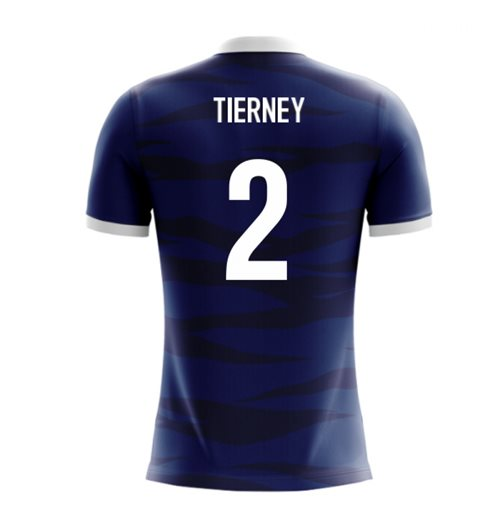 2018-2019 Scotland Airo Concept Home Shirt (Tierney 2) - Kids