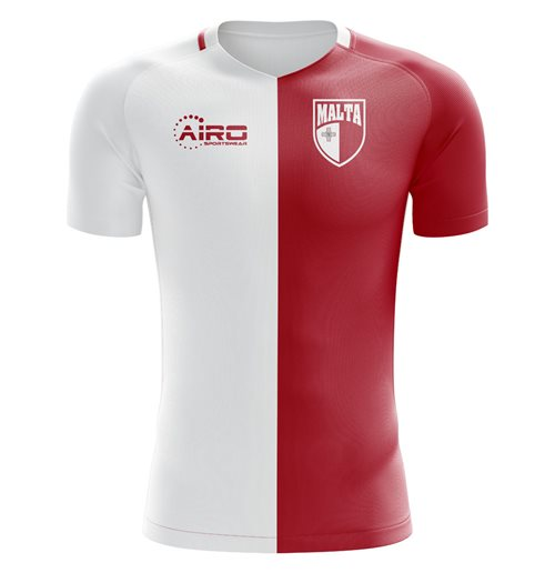 2018-2019 Malta Home Concept Football Shirt