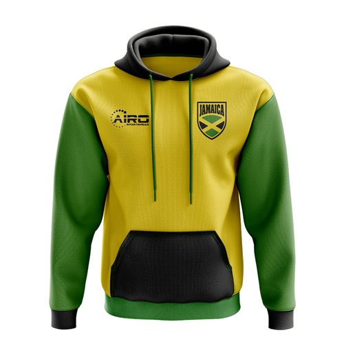 Jamaica Concept Country Football Hoody (Yellow) Sportswear