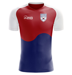 2018-2019 South Korea Flag Concept Football Shirt