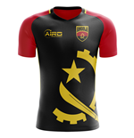 2018-2019 Angola Home Concept Football Shirt
