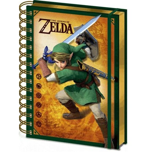 Nintendo: The Legend Of Zelda - 3D Lenticular Notebook