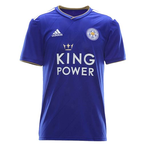 2018-2019 Leicester City Puma Home Football Shirt (Kids)