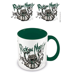 Rick and Morty Coloured Inner Mug Monster Troubles