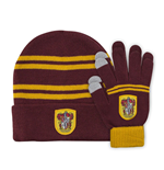 Harry Potter Beanie & Gloves Set for Kids Gryffindor
