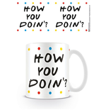 Friends Mug How you Doin - Dots