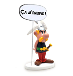 Asterix Collectoys Comics Speech Statue Asterix It's getting on my nerves! 15 cm *French Version*