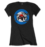 The Jam Ladies Tee: Spray Target Logo (Soft Hand Inks)