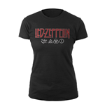 Led Zeppelin T-shirt Logo & Symbols
