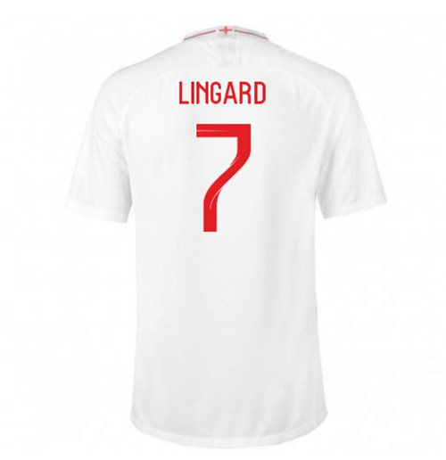 2018-2019 England Home Nike Football Shirt (Lingard 7) - Kids