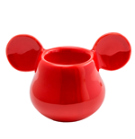 Mickey Mouse 3D Red Egg Cup