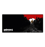 WOLFENSTEIN II The New Colossus Trail of the Dead Oversize Mousepad, 800 x 350 x 4 mm, Multi-colour