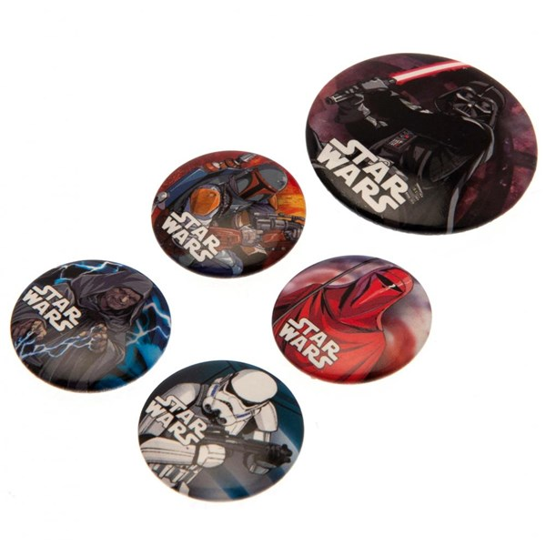 Star Wars Button Badge Set