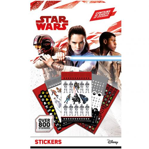 Star Wars 800pc Sticker Set