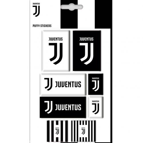 Juventus F.C. Bubble Sticker Set