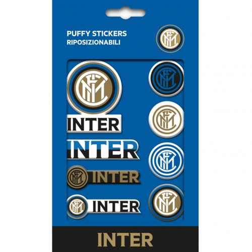 F.C. Inter Milan Bubble Sticker Set