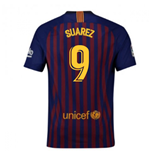 2018-2019 Barcelona Home Nike Football Shirt (Suarez 9)