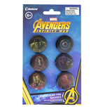 Avengers Infinity War Lenticular Pin Badges 6-Pack