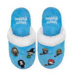 Harry Potter Kids Slippers Hogwarts Kawaii /L