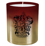 Harry Potter Glass Candle Gryffindor 8 x 9 cm