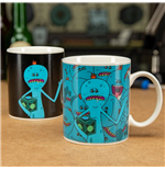 Rick & Morty Heat Change Mug Mr Meeseeks