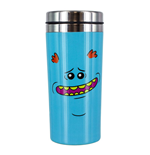 Rick & Morty Travel Mug Mr Meeseeks