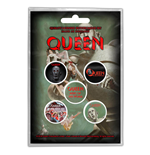 Queen Button Badge Pack: News of the World