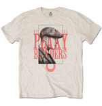 Peaky Blinders Men's Tee: Red Logo Tommy