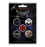 Mayhem Button Badge Pack: De Mysteriis Dom Sathanas