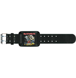 Iron Maiden Leather Wrist Strap: Number of the Beast