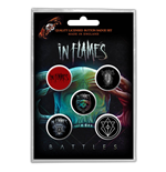 In Flames Button Badge Pack: Battles