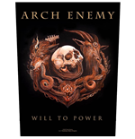 Arch Enemy Back Patch: Will to Power