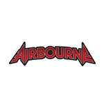 Airbourne Standard Patch: Logo Cut-Out (Loose)
