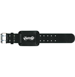 Aborted Leather Wrist Strap: Logo