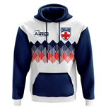 2018-2019 England Home Concept Football Hoody