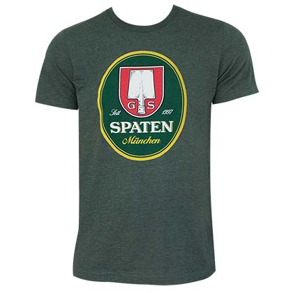 SPATEN Logo Forest Green Tee Shirt
