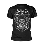 Slayer T-shirt Skull & Bones Revised