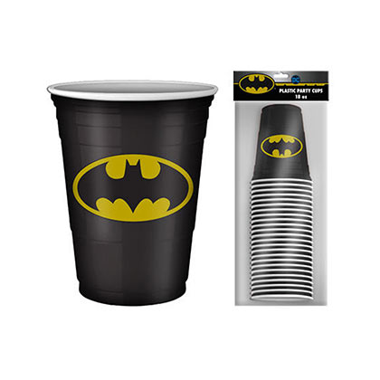 BATMAN 20 Pack Disposable Drinking Cups