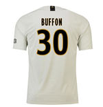 2018-19 Psg Away Football Shirt (Buffon 30) - Kids