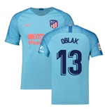 2018-2019 Atletico Madrid Away Nike Football Shirt (Oblak 13)