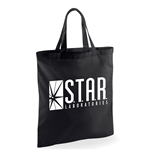 The Flash Tv - Star Labs Logo - Bag Black