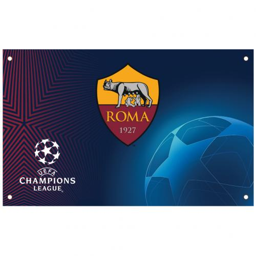 A.S. Roma Champions League Flag