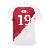 2018-19 Monaco Home Football Shirt (Sidibe 19) - Kids