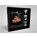 The Rolling Stones: Tongue Flask and Glasses Set