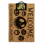 The Nightmare Before Christmas: A Nightmare Awaits Doormat