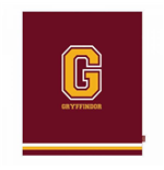 Harry Potter Fleece Blanket G for Gryffindor 125 x 150 cm