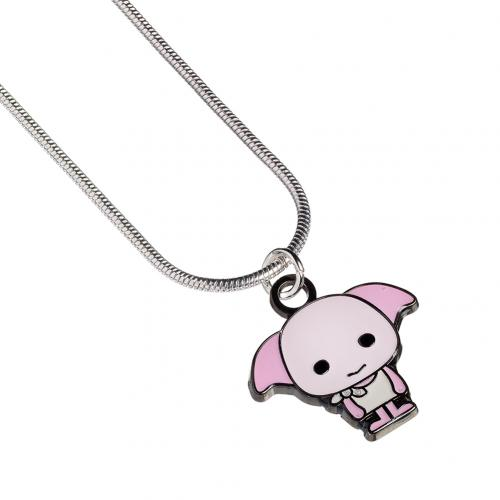 Harry Potter Silver Plated Necklace Chibi Dobby